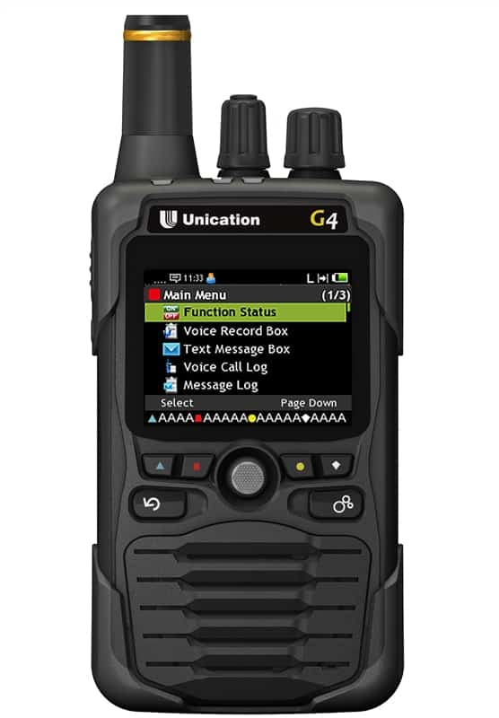 Unication G4 Pager in Black