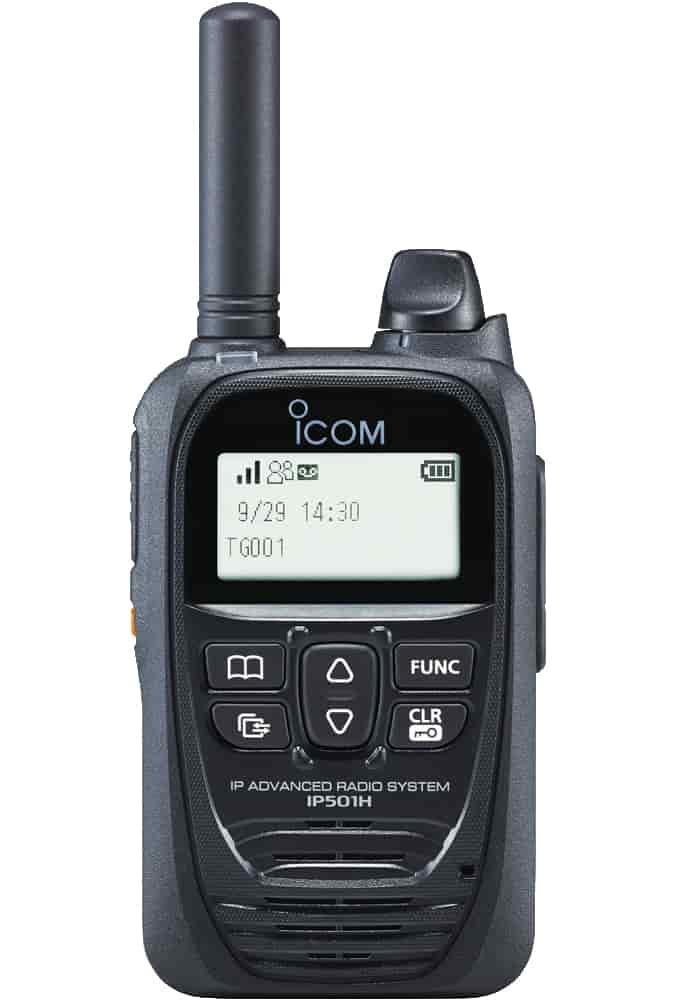 Icom IP501H radio in black