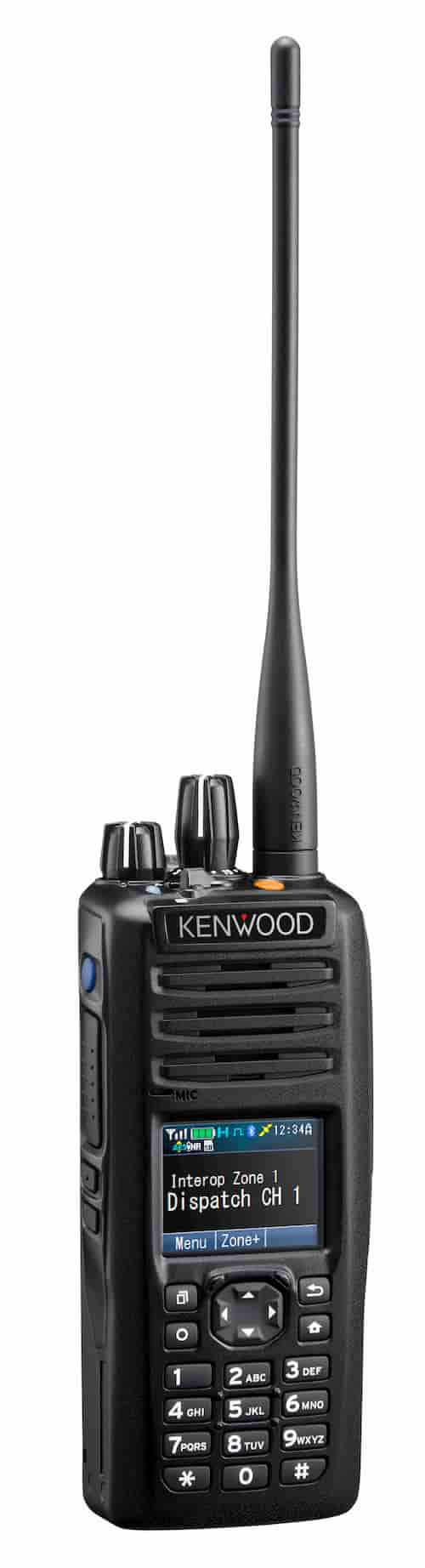 Kenwood NX5000 series radio in black