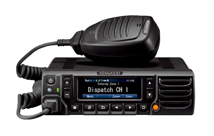 Kenwood NX5700 series radio in black