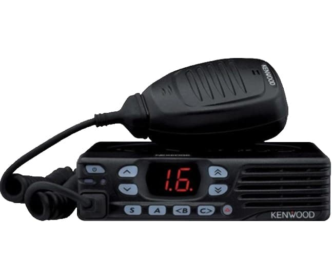 Kenwood NX 740 radio in black