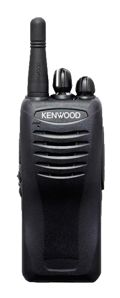 Kenwood TK 2402 radio in black