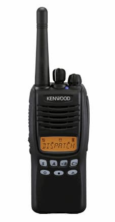 Kenwood TK 3312 radio in black