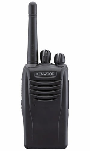 Kenwood TK 3360 radio in black