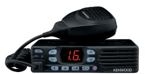Kenwood TK 7302 radio in black