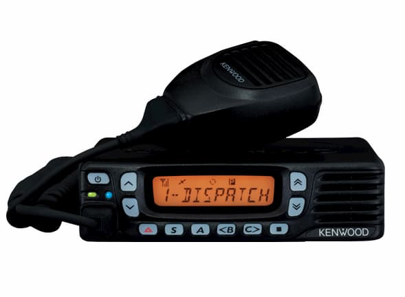 Kenwood TK 7360 radio in black