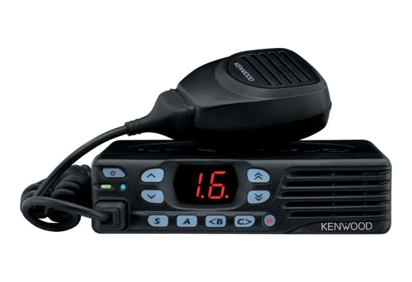 Kenwood TKD 740 radio in black