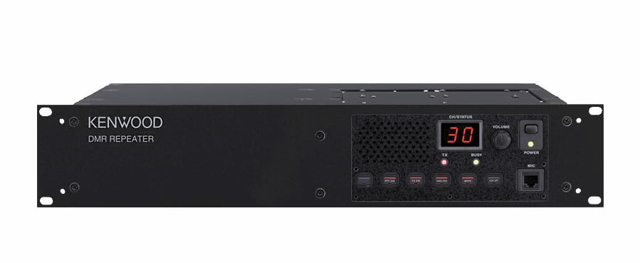 Kenwood TKRD 710 repeater in black