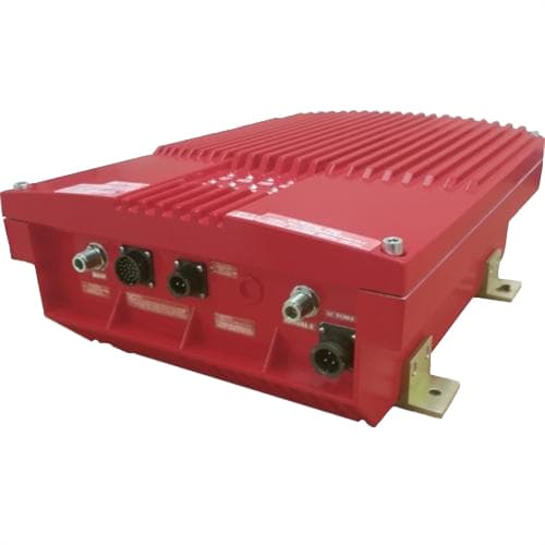 G Wave Public Safety Bi-Directional Amplifier in red